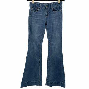 American Eagle Super Flare Jeans Size 6 Regular Wi